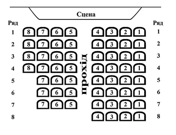 План камерної зали