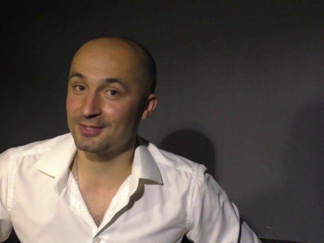 Артист-ляльковод І-ої категорії Сергій Мамон