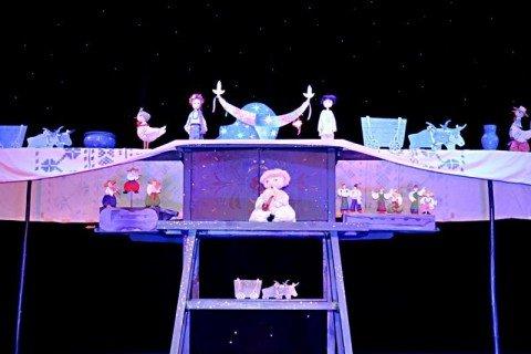 """Всеукраїнський огляд-конкурс вистав театрів ляльок """"Премє'ри сезону"""" (2011-2012 рр)."""