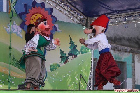 ІІІ Відкритий Всеукраїнський фестиваль театрів ляльок «Світ ляльок» (м. Житомир)