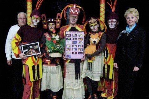 """XIV Міжнародний фестиваль театрів ляльок """"Golden Sparkle"""" (Крануєвац, Республіка Сербія)"""