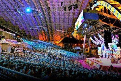 """XXIV Міжнароднний фестиваль мистецтв """"Слов'янський базар у Вітебську"""" (Вітебськ, Республіка Білорусь)."""